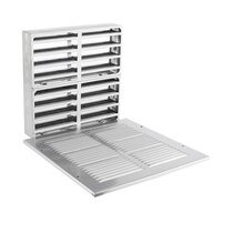 Fire Rated Air Transfer Grille & Face Plate for 2250 (Silver)