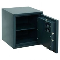 The Primus 45 safe is supplied with one removable shelf