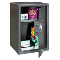 The Phoenix Vela 0804E is an ideal security safe for home and office use