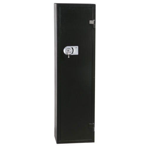Ranger S1 seven gun cabinet fitted with high security key lock