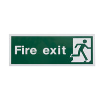 Fire Exit Sign - No Direction (Final Exit)