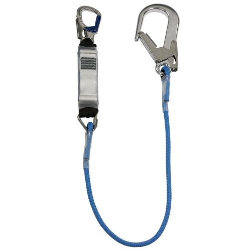 Rope Lanyard - Triangular Link and Large Double Action Hook