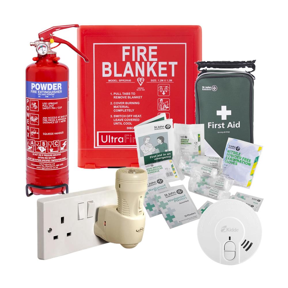 Safelincs Home Working Fire Safety Kit