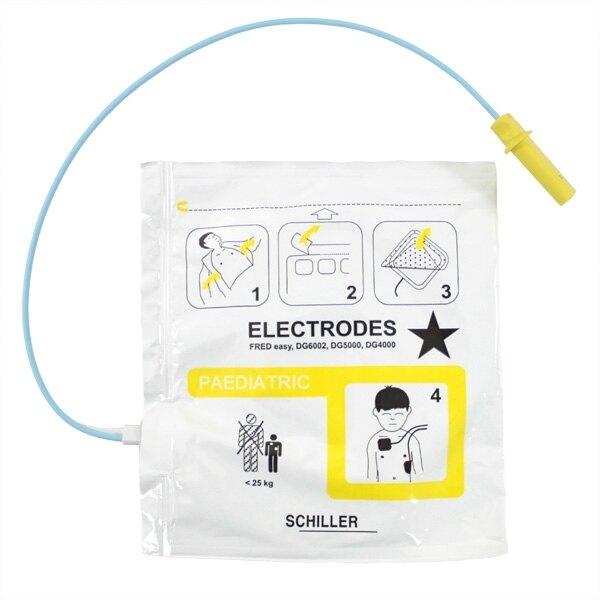 Schiller FRED Easy Paediatric Defibrillator Pads