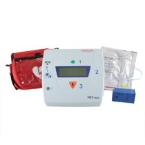 The Schiller defibrillator is supplied with a range of accessories