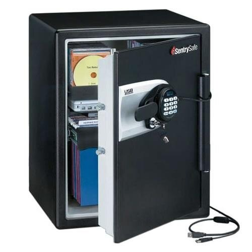 Sentry QE5531 Fire Safe with USB back-up facility