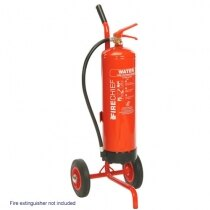 Single fire extinguisher trolley