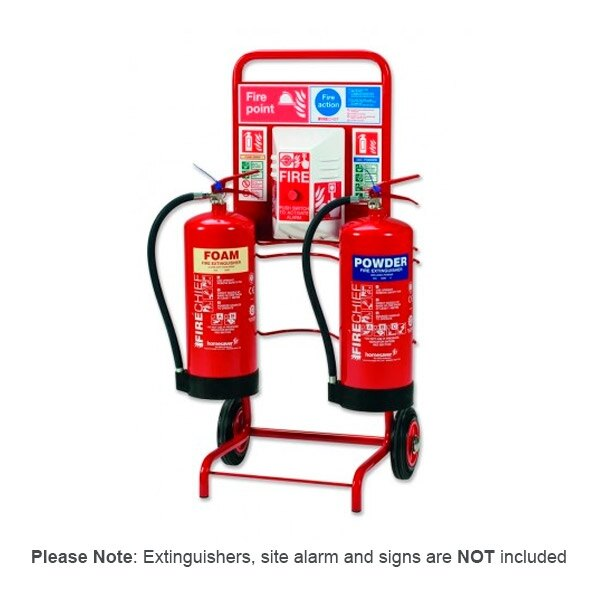 Mobile Fire Point with Site Alarm