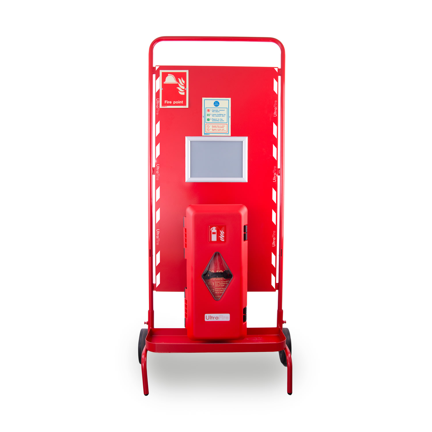 Site Stand with Waterproof Extinguisher Cabinet