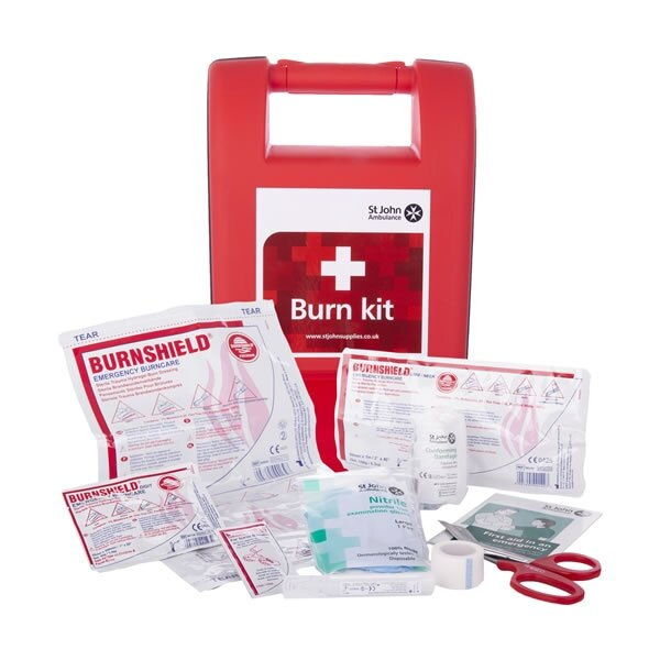 Contains fast acting, quick relief Burnshield products