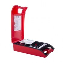 Strong carry pouches allow ease of identification and quick access