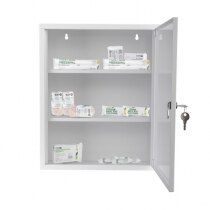 Ideal for storing first aid essentials (contents not included)