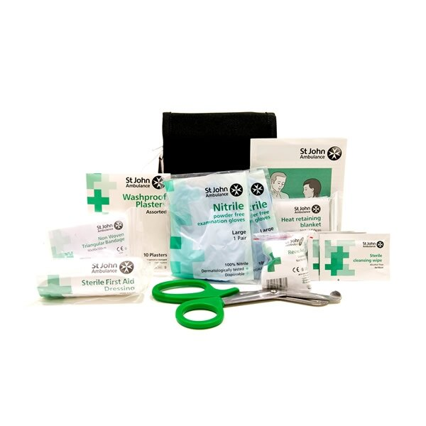 Contains essential first aid products