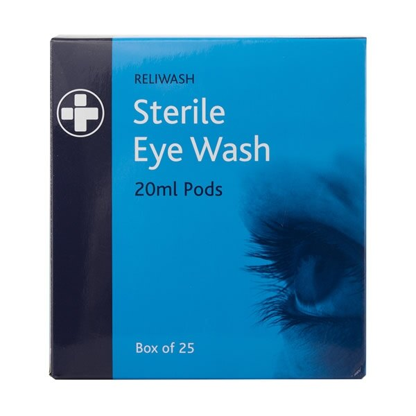 Eye Wash Pods / Phials
