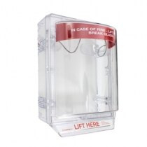 STI 1230 Stopper II  surface mounted fire alarm call point cover