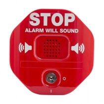 Exit Stopper Door Alarm - Double Door - STI 6402