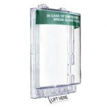 STI 6530/G Stopper flush mounted emergency call point cover