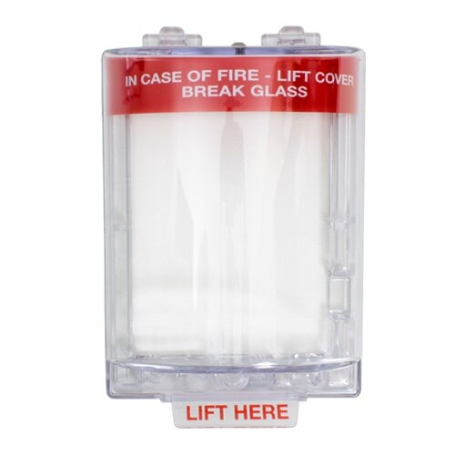 STI 6532G Stopper fire alarm call point cover