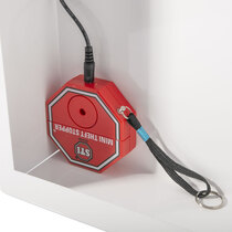 Loud alarm to alert when your AED has been accessed