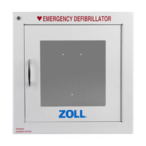 Zoll AED Plus Wall Mount Cabinet with Alarm