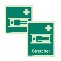 """Available with or without """"Stretcher"""" text"""