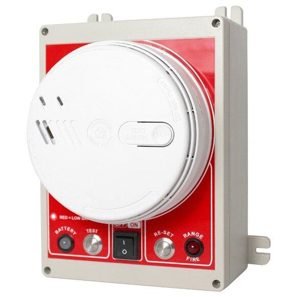 evacuator synergy rf smoke detector site alarm. Black Bedroom Furniture Sets. Home Design Ideas