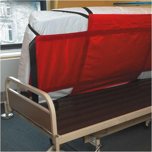 Mattress with evacuation sheet fitted