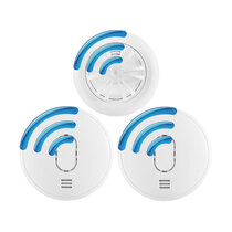 RF Smoke & Heat Alarm Kit - UltraFire