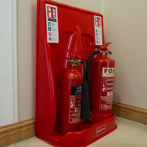 Help to protect your extinguishers from knocks and toppling
