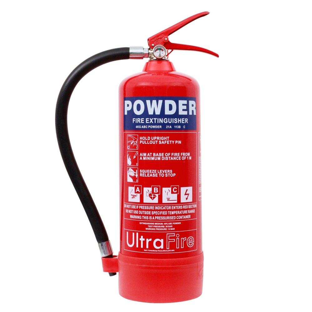 4kg Powder <br>Fire Extinguisher