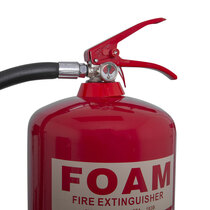 Suitable for class A fires involving solid materials and class B fires involving flammable liquid risks