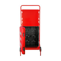 Suitable for storing two fire extinguishers up to 9kg / 9ltr