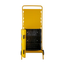 Suitable for storing a large range of spill kit and fluid disposal supplies