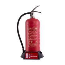Suitable for single fire extinguishers from 2kg CO2 up to 9ltr water/foam