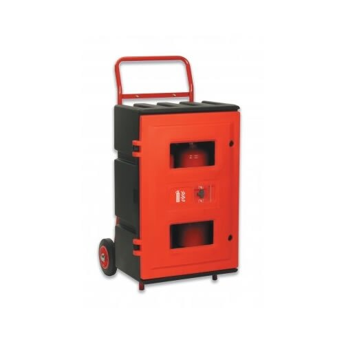 Wheeled Fire Point with Rotationally Moulded Cabinet