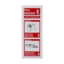 Extinguisher I.D. Sign - Fire Blanket