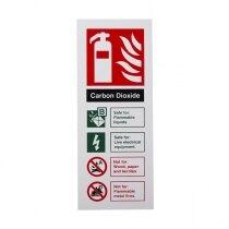 Extinguisher I.D. Sign - CO2