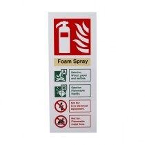 Extinguisher I.D. Sign - Foam