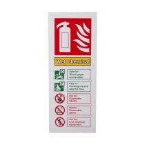 Extinguisher I.D. Sign - Wet Chemical