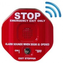 Wireless Exit Stopper Door Alarm with Transmitter