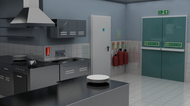 Fire Extinguishers for Kitchens