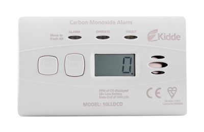 Cheapest CO detector - Kidde 10LLDCO