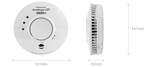 mains radio interlinked thermally enhanced optical smoke alarm with long life. Black Bedroom Furniture Sets. Home Design Ideas