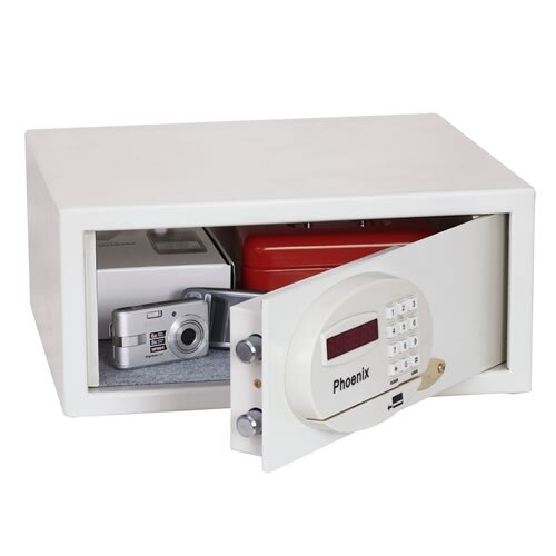 Saracen 0936 Security Safe half open door