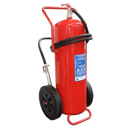 100kg Powder Wheeled Fire Extinguisher