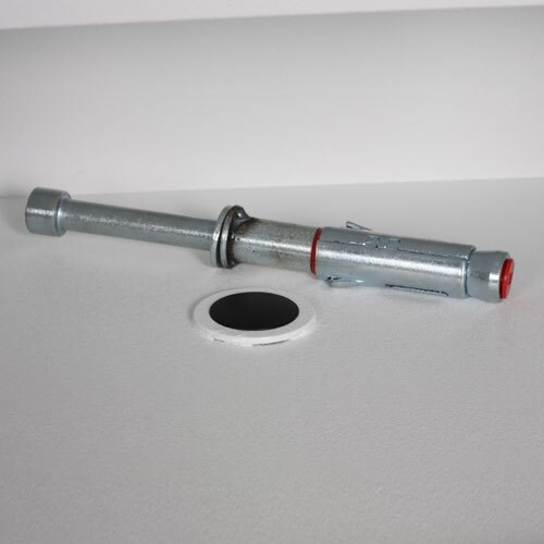 Supplied with floor mounting bolts