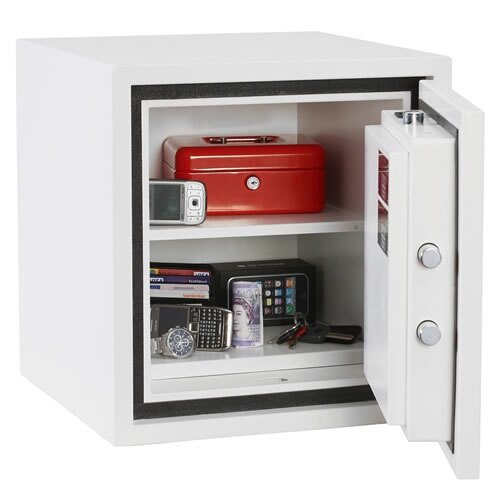 The Phoenix Citadel 1192 safe is supplied with one shelf as standard