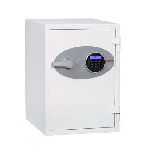 The Phoenix Titan 1252 fireproof safe with built-in alarm