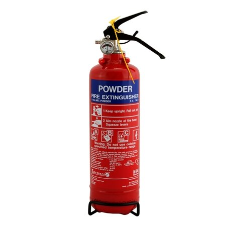1kg Powder Fire Extinguisher - Safelincs