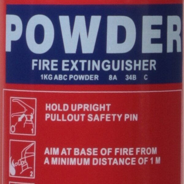 1kg Powder Fire Extinguisher - Ultrafire